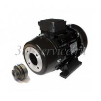 Электродвигатель Nicolini с муфтой, 6,5 кВт, 1450 об/мин