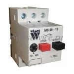 Автомат защиты двигателя Wimex MS25-16