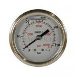 Манометр 0-1000 бар, 63 мм