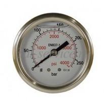 Манометр 0-250 бар, 63 мм