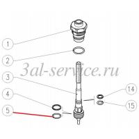 Кольцо поршня регулятора давления VB85