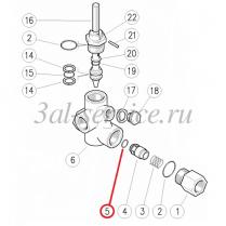 Кольцо обратного клапана регулятора давления VB 200/280