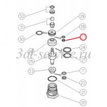 Обратное кольцо регулятора давления Pulsar Zero