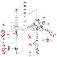 Ремкомплект регулятора давления Pulsar 3