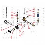 Ремкомплект регулятора давления Pulsar 4, с выключателем