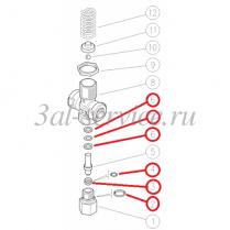 Ремкомплект предохранительного клапана VS350