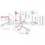 Ремкомплект регулятора давления VB7