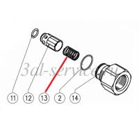 Пружина обратного клапана для регулятора VB200/280 и VB140/160, VB200/150