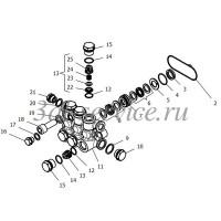Комплект клапанного блока (серия NHD)